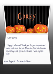 Halloween eCard for Business and Corporate